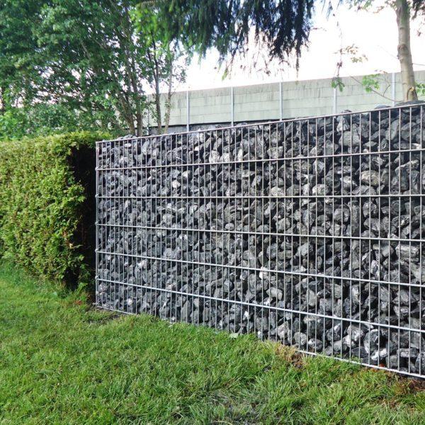 Deko-Steinmauer