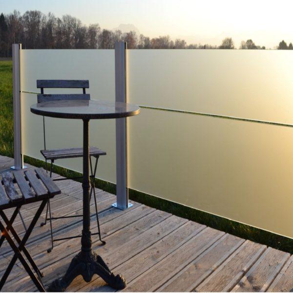 Sichtschutz Mattglas