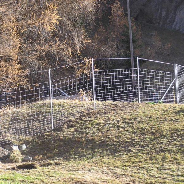 Wildschutzzaun Knotengitter