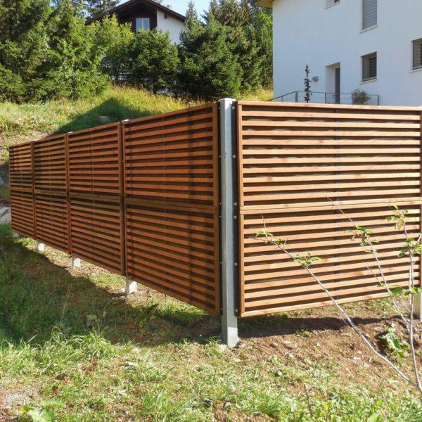 Schallschutz Zaun