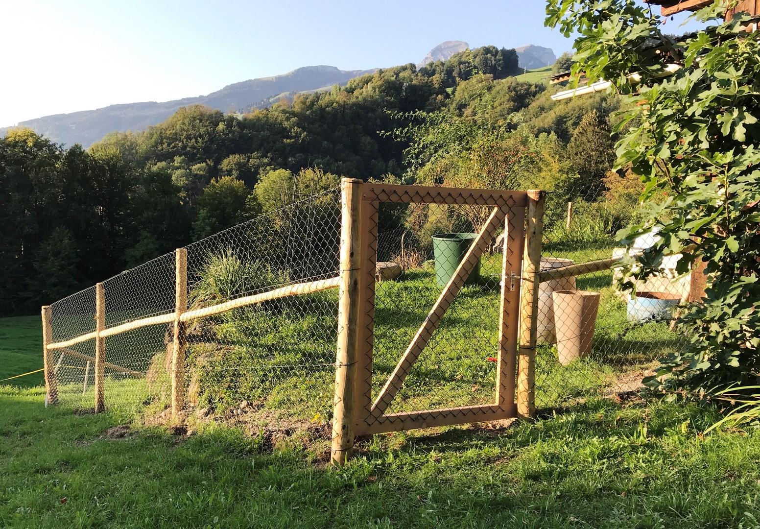 tore | gartehag hardegger: vervollständigen sie ihren zaun