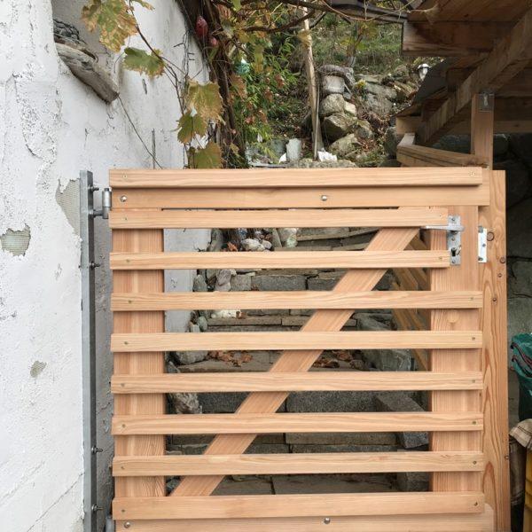 Gartentor Aus Holz